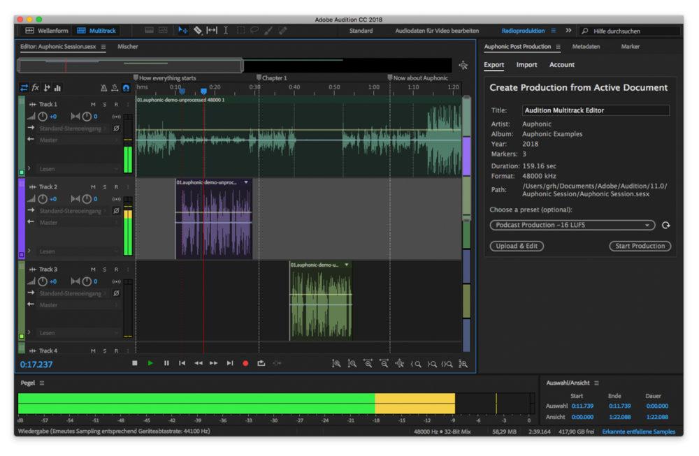 Adobe Audition Mac Adobe Audition se met à jour et ajoute le support des Mac M1