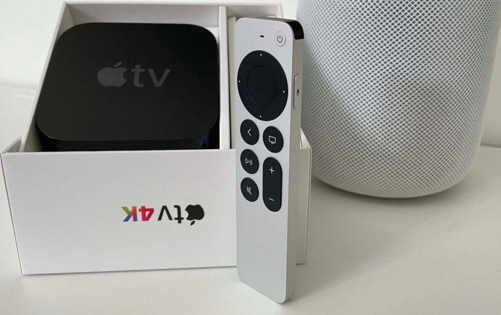 Apple TV Siri Remote HomePod tvOS 15 et HomePod 15 : la bêta 3 publique est disponible au téléchargement