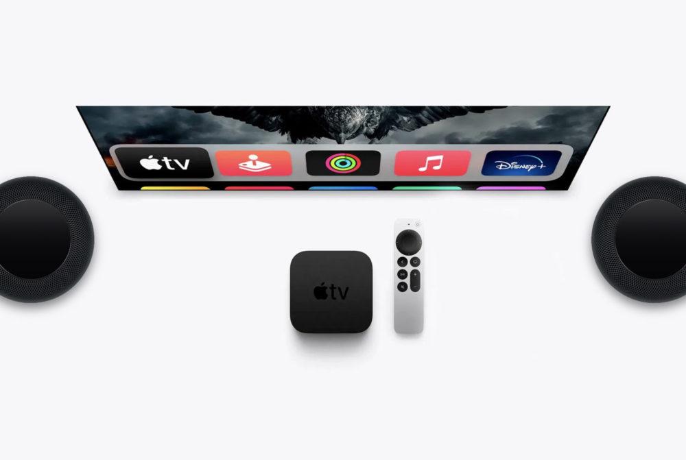 Apple TV tvOS HomePod tvOS 15.1 et HomePod 15.1 : la bêta 4 développeurs est disponible