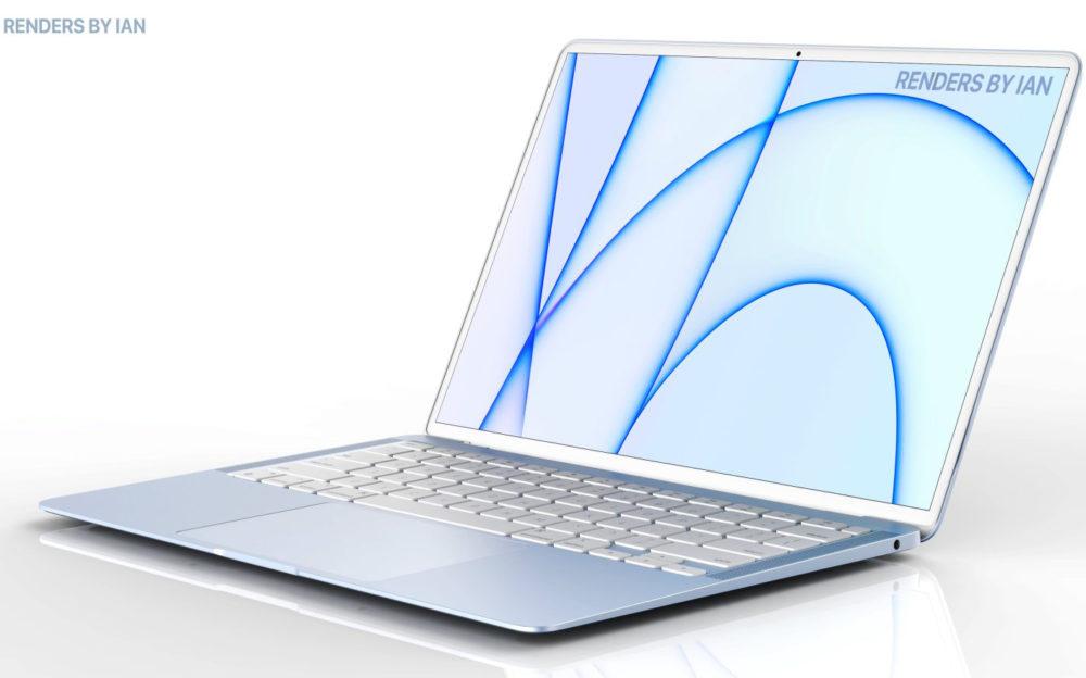 Un MacBook Air avec plusieurs coloris doté de la puce M2 prévu pour le 1er semestre 2022