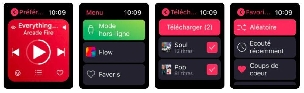 Deezer Application Apple Watch Deezer se met à jour et ajoute lécoute hors connexion sur lapplication Apple Watch