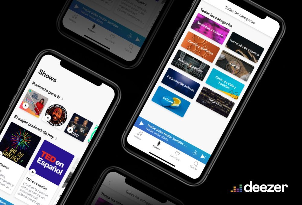 Deezer iPhone Deezer se met à jour et ajoute lécoute hors connexion sur lapplication Apple Watch