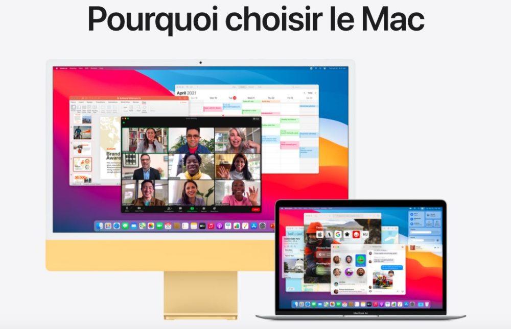 Pourquoi Choisir Le Mac Si vous vous demandez pourquoi choisir le Mac, Apple vous donne les raisons