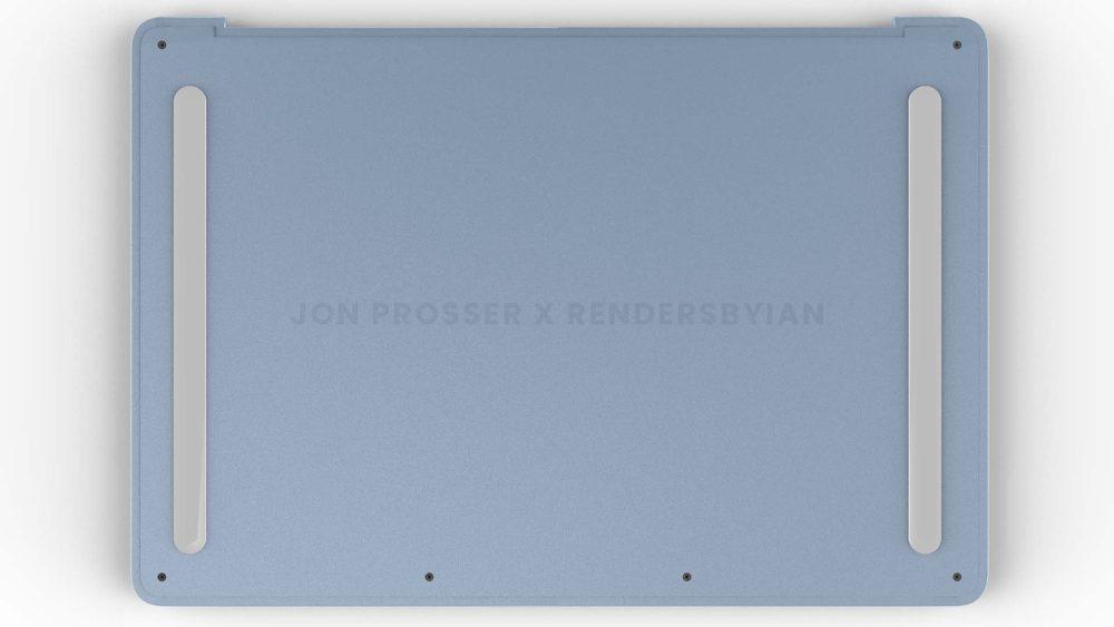 Prochain MacBook Air Arriere MacBook Air en plusieurs coloris : les bordures et les touches du clavier seraient en blanc et plus encore