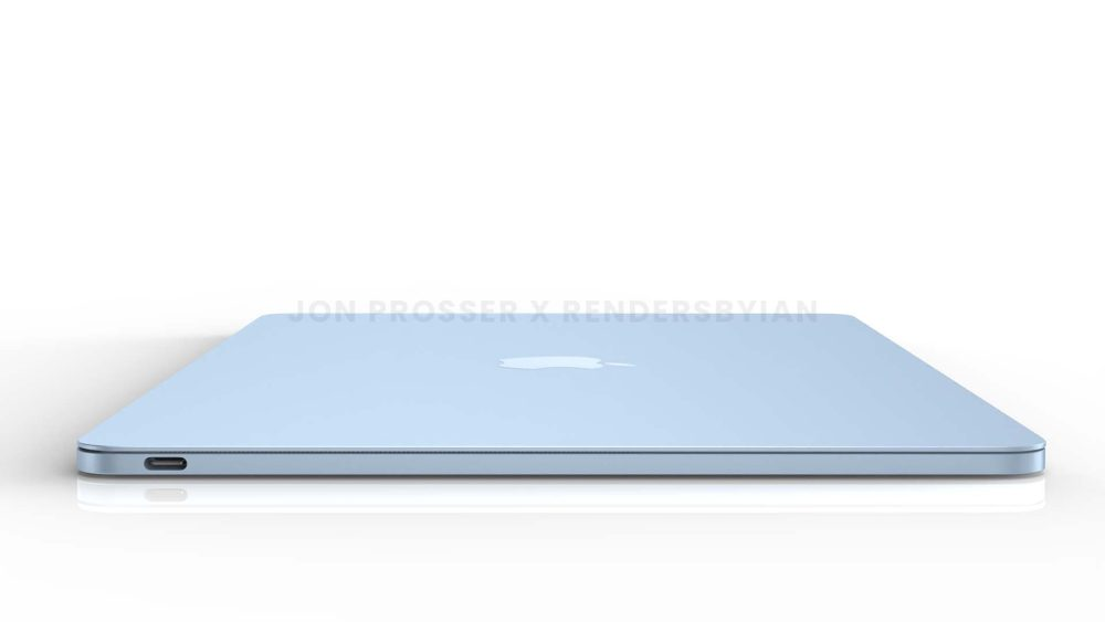 Prochain MacBook Air Cote MacBook Air en plusieurs coloris : les bordures et les touches du clavier seraient en blanc et plus encore