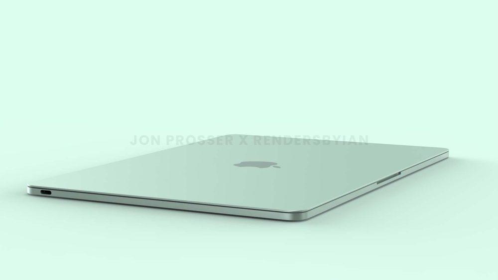 Prochain MacBook Air Vert MacBook Air en plusieurs coloris : les bordures et les touches du clavier seraient en blanc et plus encore