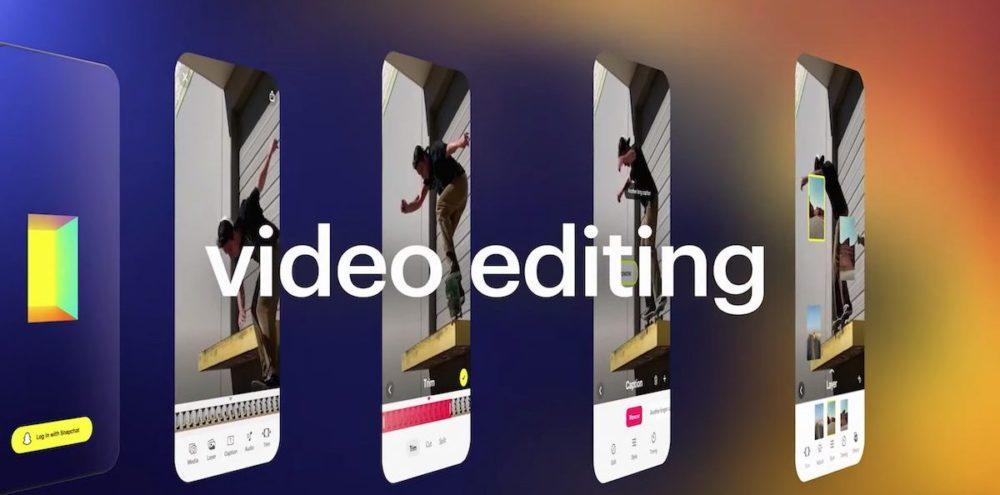 Snapchat Story Studio Video Editing Snapchat annonce Story Studio, une appli de création et dédition de vidéo
