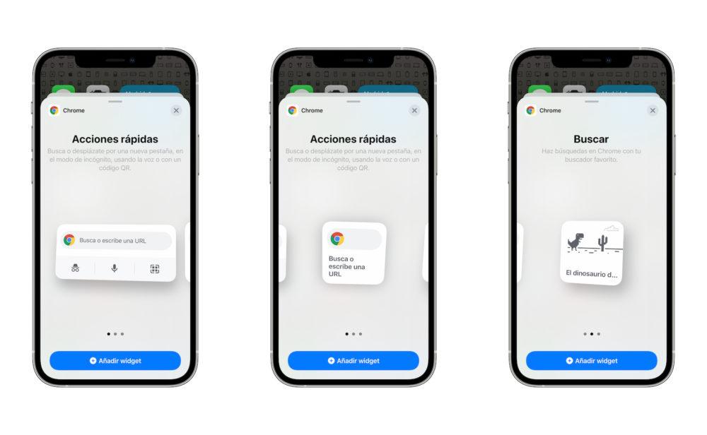Google Chrome se met à jour et ajoute les widgets sur iOS 14