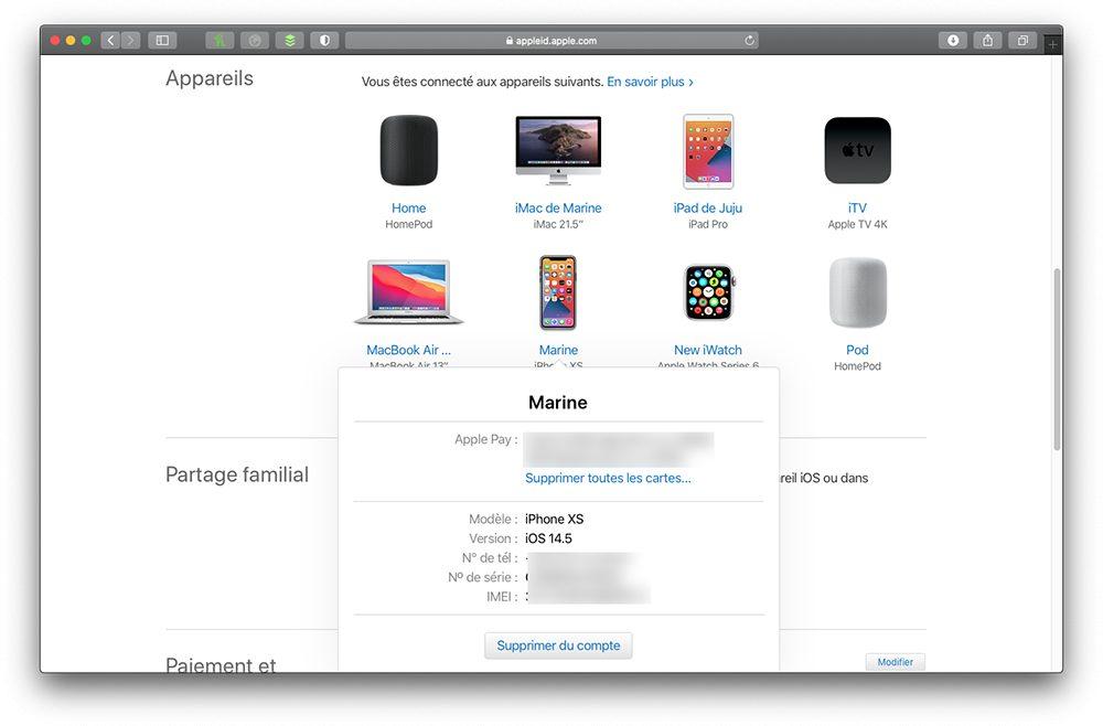 appleid supprimer iphone compte Que faire avant de vendre son iPhone