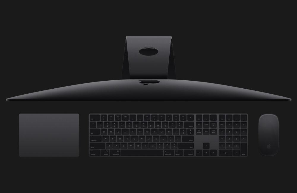 iMac Magic Mouse 2 Magic Keyboard et Magic Trackpad Gris Sideral iMac Pro : Apple abandonne les accessoires en gris sidéral (clavier, souris et trackpad)