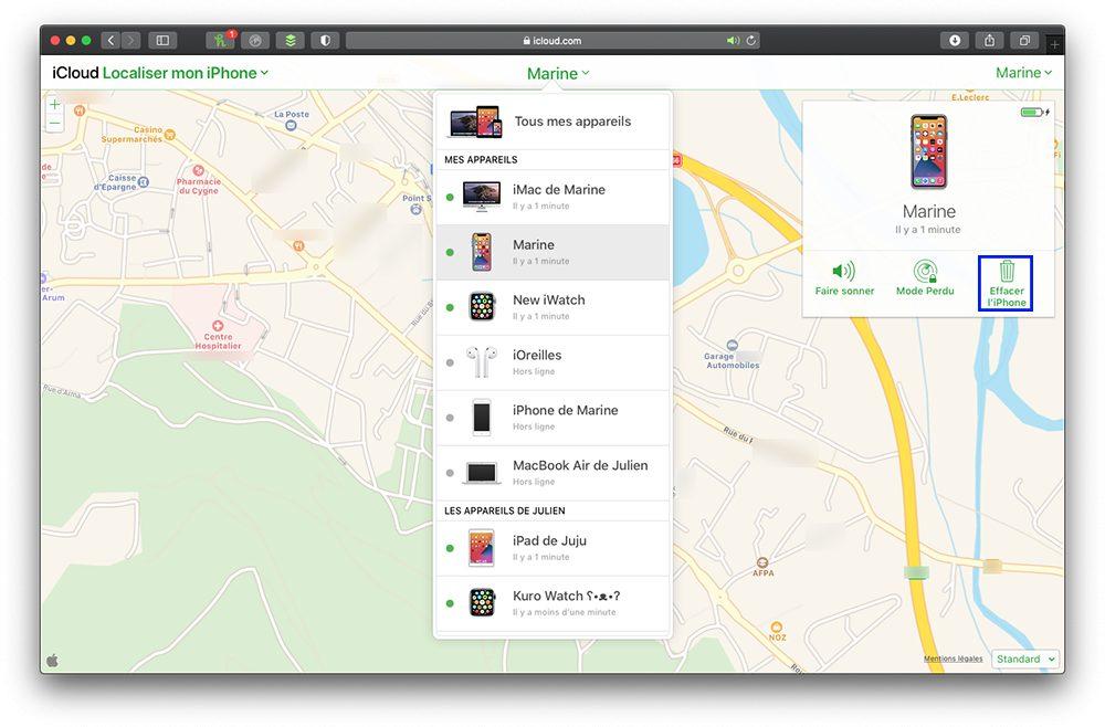 icloudcom effacer iphone Que faire avant de vendre son iPhone