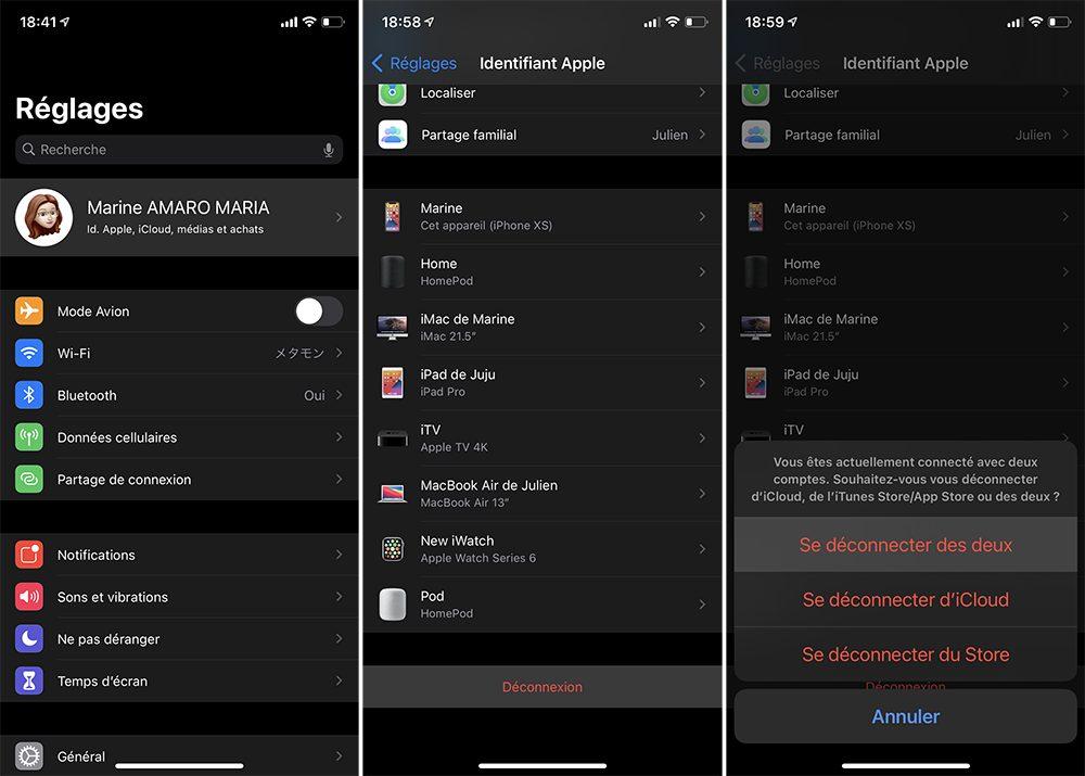 iphone deconnexion compte apple Que faire avant de vendre son iPhone