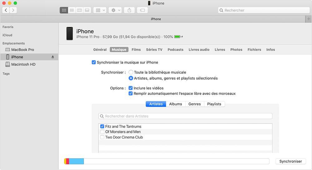 mac finder transferer musique Comment transférer ses données dAndroid vers un iPhone ?