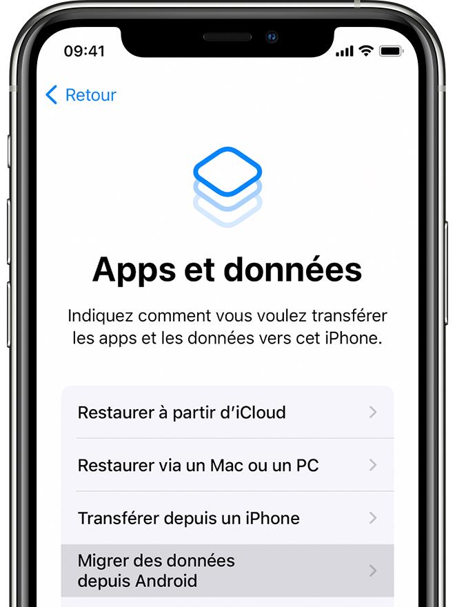 migrer donnees android ios Comment transférer ses données dAndroid vers un iPhone ?