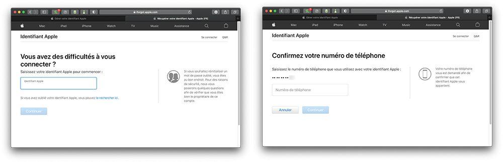 oublie mdp apple Comment retrouver le mot de passe perdu de lidentifiant Apple ?