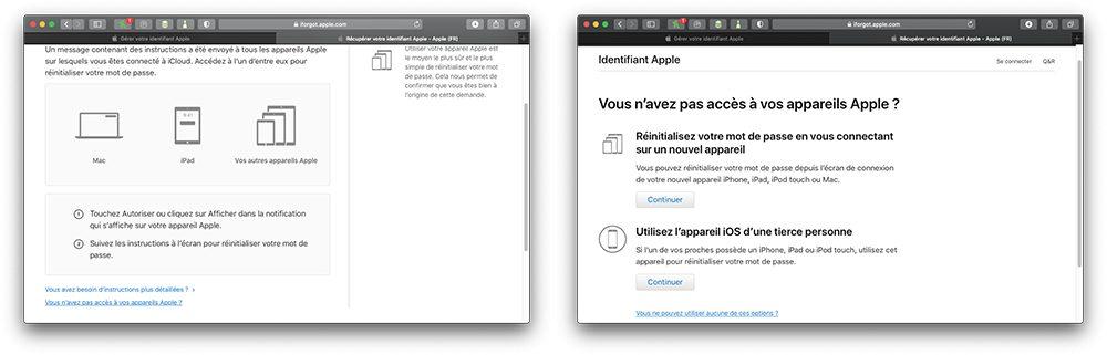 oublie mdp sans idevice Comment retrouver le mot de passe perdu de lidentifiant Apple ?