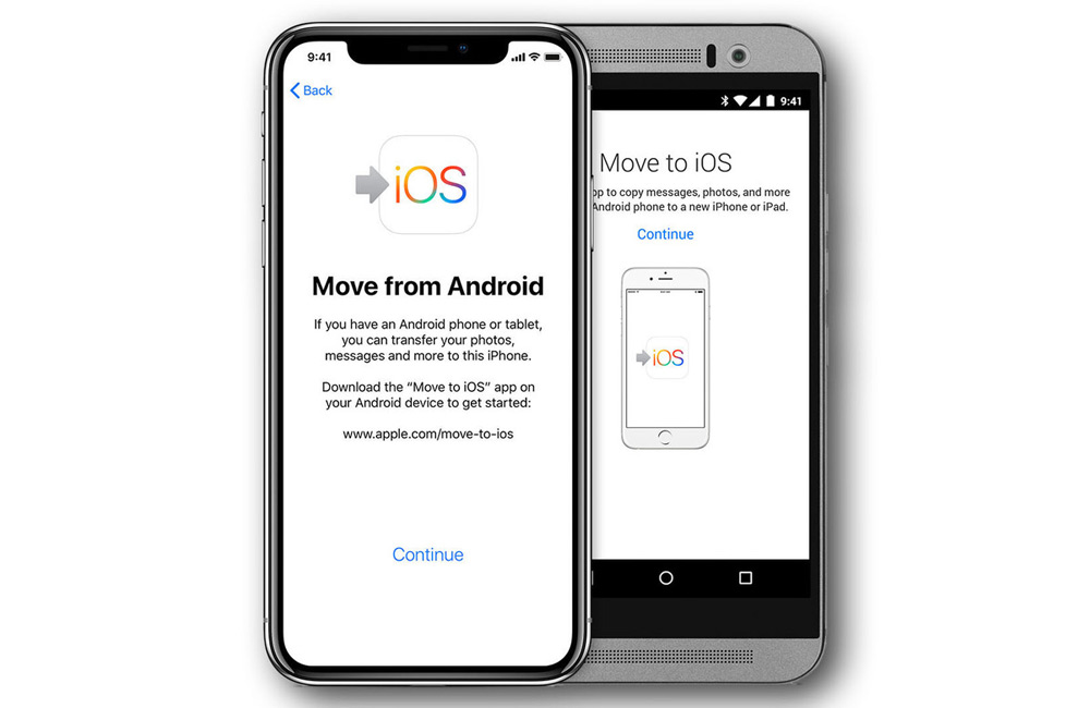 transferer android iphone 1 Comment transférer ses données dAndroid vers un iPhone ?