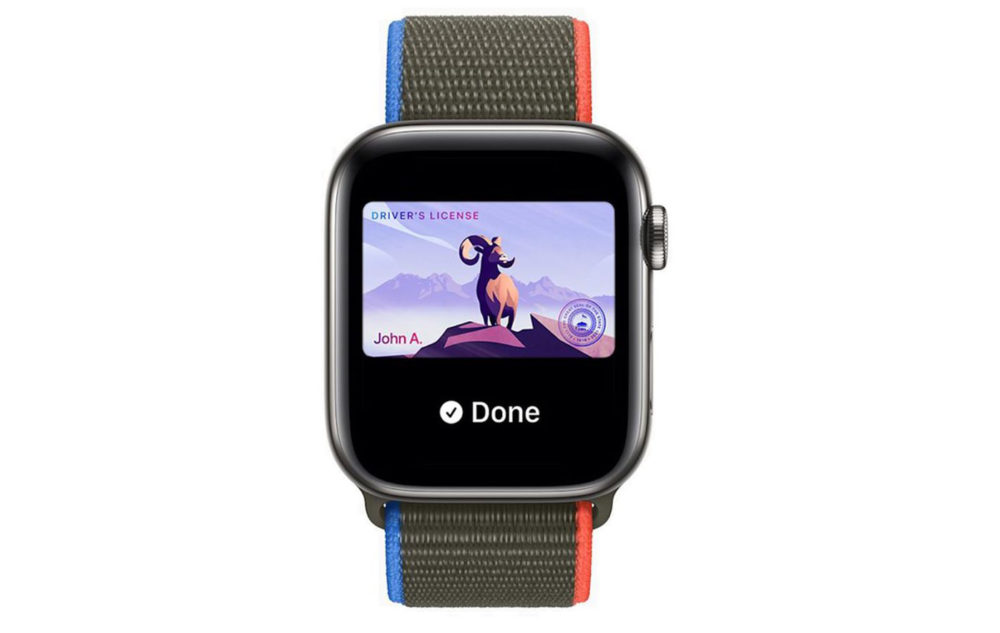 Apple Watch Permis de Conduire Carte Identite watchOS 8 Apple veut que votre portefeuille soit remplacé par lApple Watch
