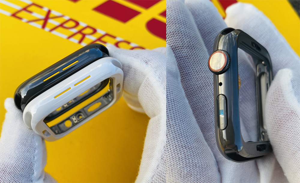 Apple Watch Series 5 Pretendu Black Ceramic Edition Des images montrent une inédite Apple Watch Series 5 noire en céramique