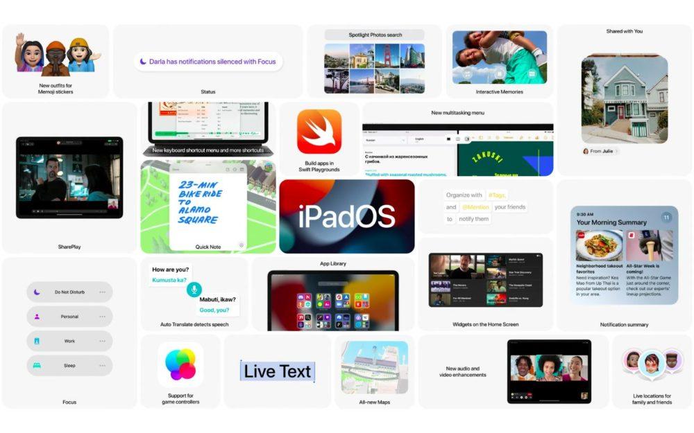 Apple iPadOS 15 WWDC 2021 copy [WWDC 2021]   iPadOS 15 : multitâches plus intuitives, écran daccueil repensé, des widgets intégrés et plus
