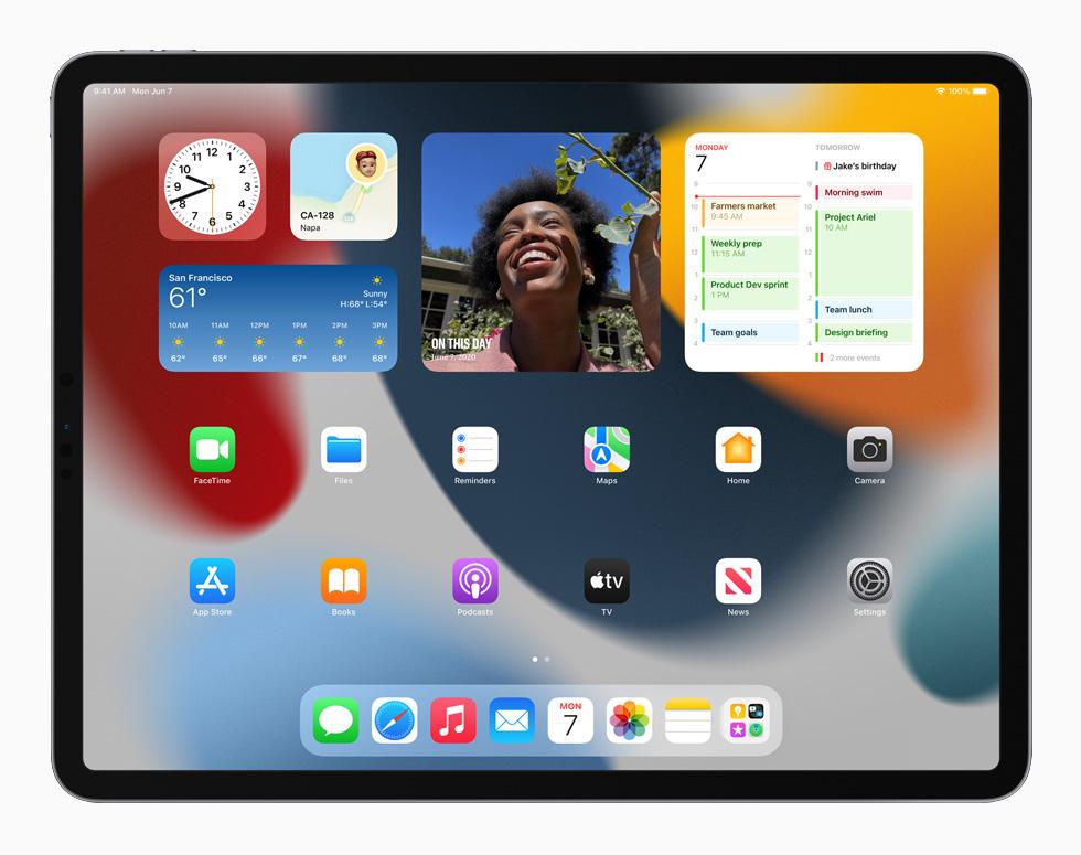 [WWDC 2021]   iPadOS 15 : multitâches plus intuitives, écran daccueil repensé, des widgets intégrés et plus