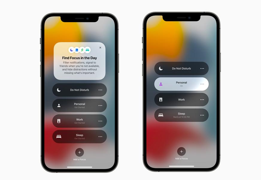Apple iPhone 12 Pro iOS 15 Concentration [WWDC 2021]   iOS 15 : partage de médias sur FaceTime, Live Text, améliorations dans Plans, Météo, Wallet...