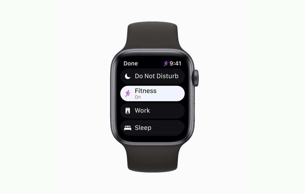 Apple watchOS 8 Concentration La bêta 3 développeurs de watchOS 8.1 est disponible