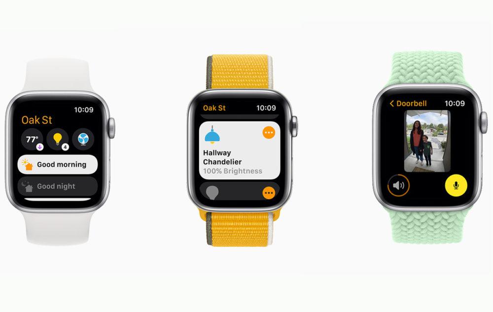 Apple watchOS 8 HomeKit [WWDC 2021]   watchOS 8 : version repensée de lapp Respirer, nouveaux exercices Tai Chi, AssistiveTouch, compatibilité AirTag...
