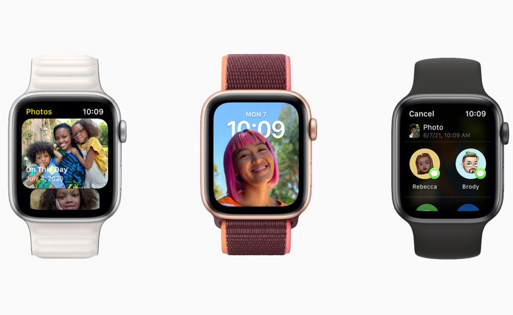 Apple watchOS 8 Photos watchOS 8.1 : la bêta 1 développeurs est disponible au téléchargement