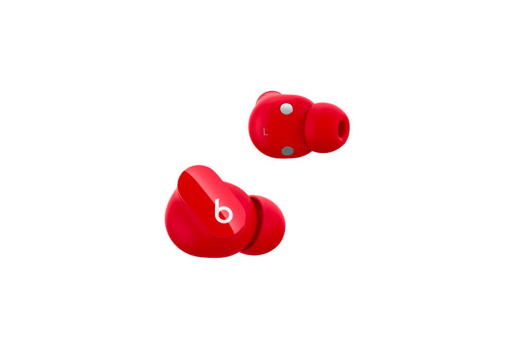 Beats Studio Buds Rouge Apple annonce les Beats Studio Buds : mode Transparence, réduction active du bruit... pour 150 euros