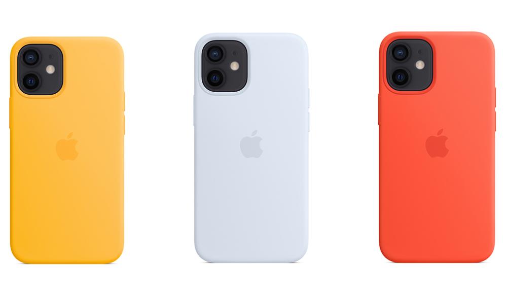 Coque en silicone avec MagSafe pour iPhone 12 Coques MagSafe iPhone 12 : Apple met à la vente 3 nouvelles couleurs pour lété