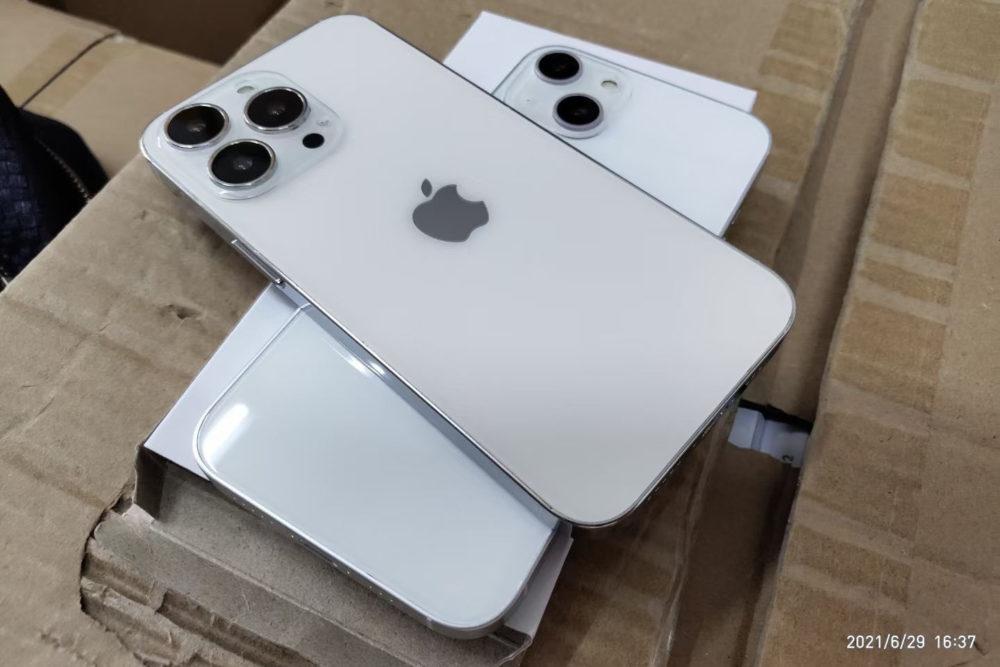 iPhone 13 : de nouvelles maquettes dévoilent le design, lencoche plus petite et plus