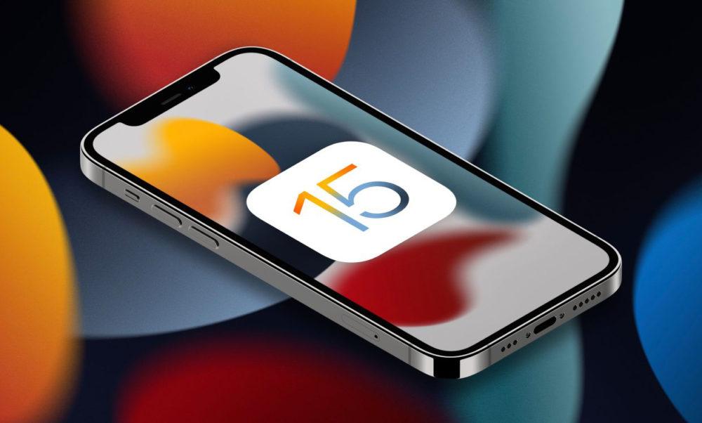 iOS 15 iPhone 12 iOS 15 bêta 6, encore une fois, redessine Safari avec la barre dURL en haut ou en bas