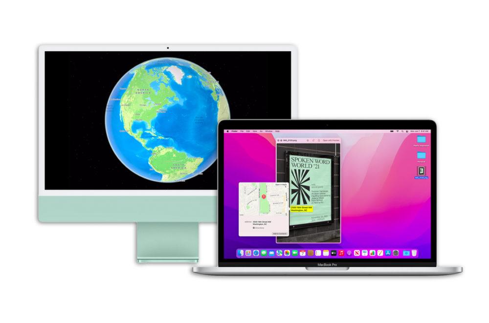 macOS 12 Monterey iMac MacBook Pro Apple indique les fonctionnalités de macOS Monterey indisponibles sur les Mac Intel