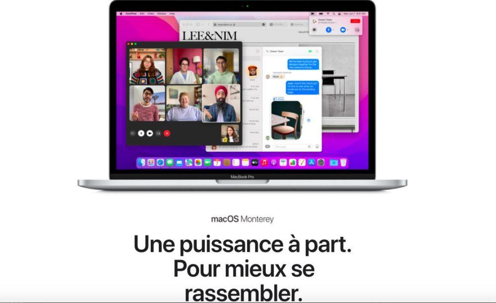 macOS Monterey Presentation Francais La bêta 9 développeurs de macOS Monterey est disponible