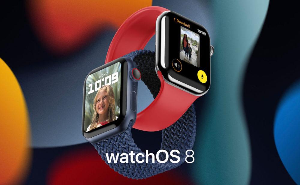 watchOS 8 Apple Watch Series 6 1 Apple rend disponible la bêta 2 développeurs de watchOS 8 sur Apple Watch
