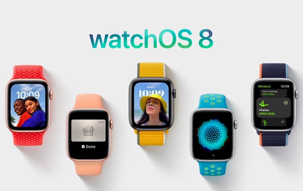 watchOS 8 Apple Watch watchOS 8 : la Release Candidate est disponible au téléchargement