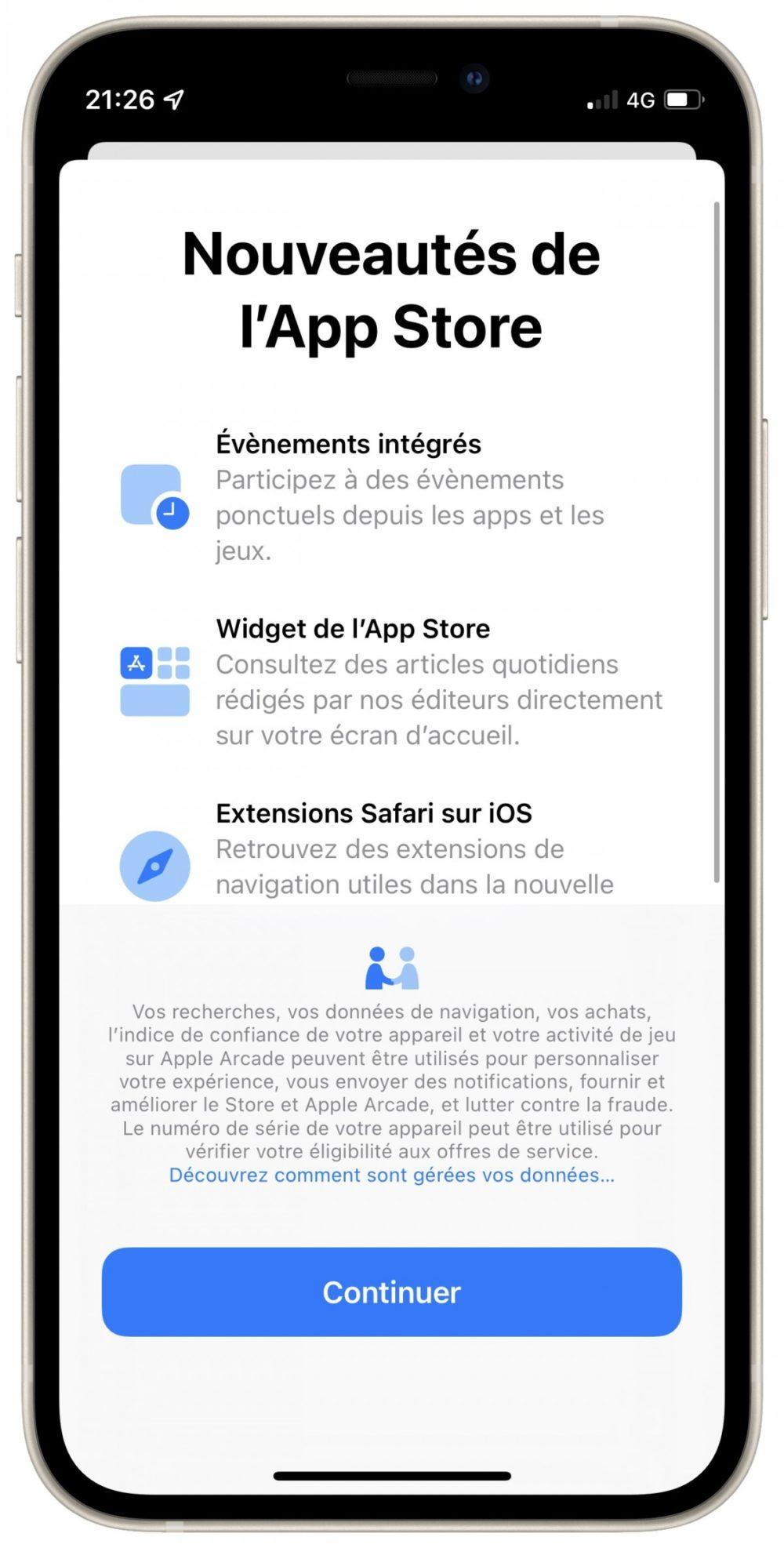 App Store iOS 15 Beta 3 iOS 15 et iPadOS 15 bêta 3 : voici la liste des nouveautés retrouvées