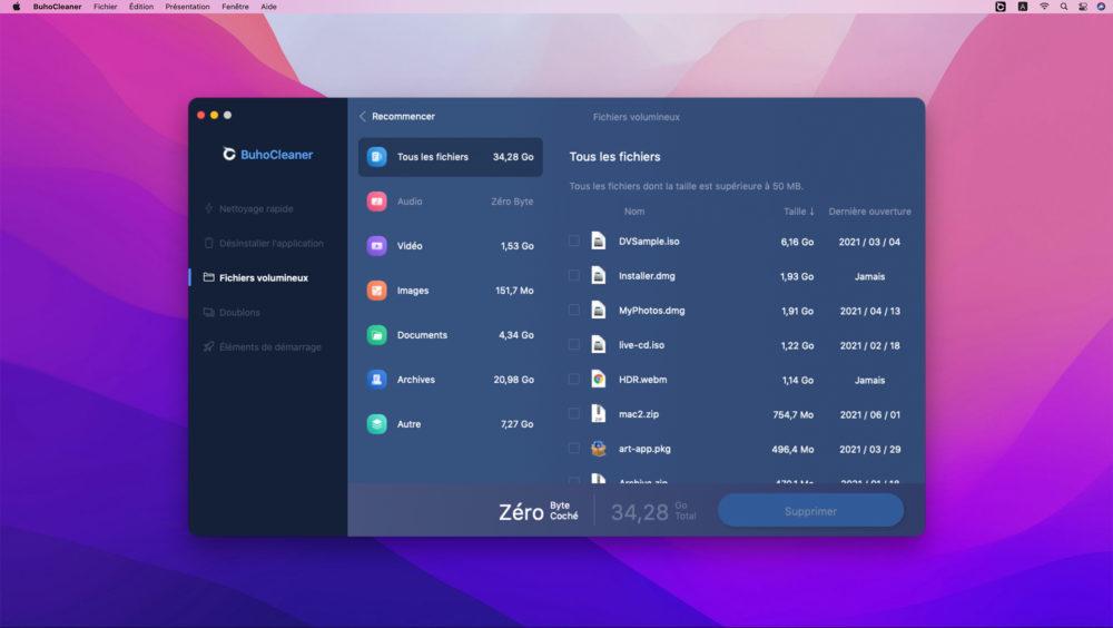 buho cleaner mac 3 BuhoCleaner : le meilleur nettoyeur de Mac pour optimiser les performances système
