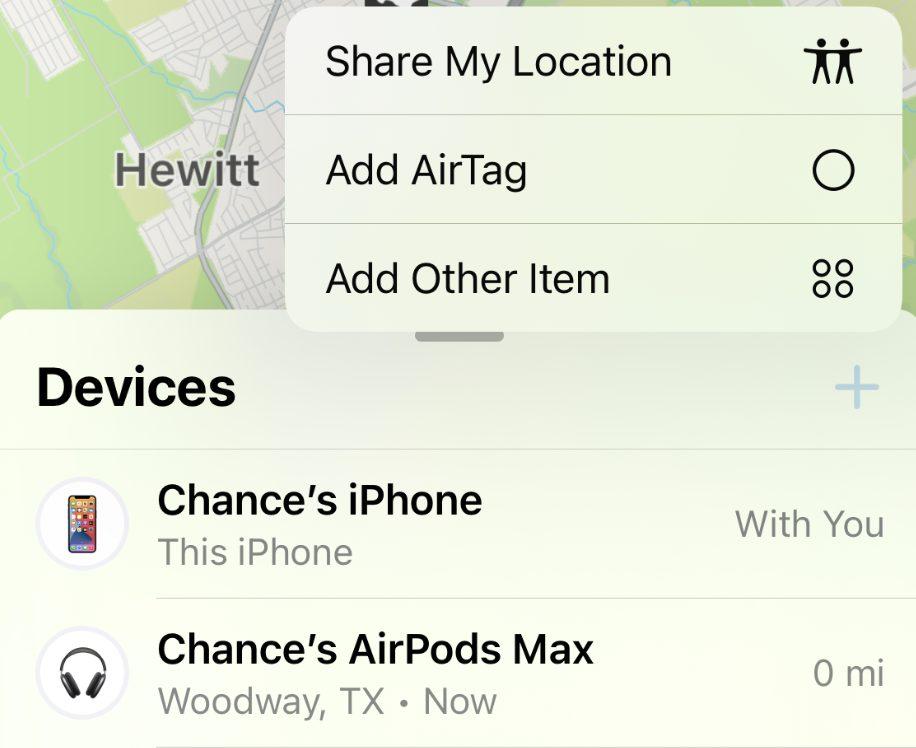 iOS 15 Beta 3 Nouveau Bouton Ajouter Appareil Localiser iOS 15 et iPadOS 15 bêta 3 : voici la liste des nouveautés retrouvées