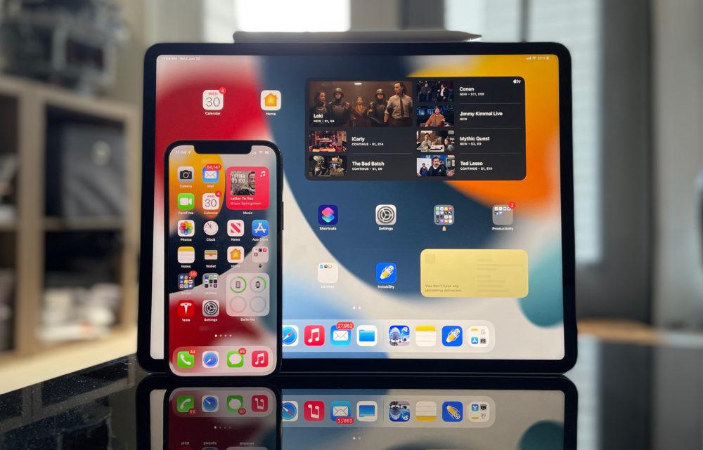 iOS 15 iPadOS 15 iOS 15.1 et iPadOS 15.1 : Apple publie la bêta 1 aux développeurs