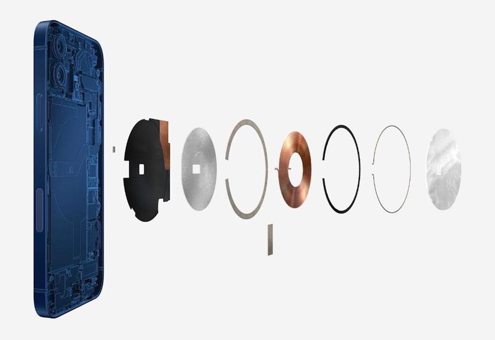 iPhone 12 MagSafe La recharge sans fil inversée et une plus grosse bobine sur les iPhone 13 ?