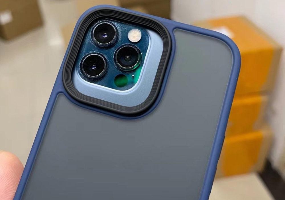 iPhone 13 Pro Max : nous pouvons voir le plus grand module photo grâce à une coque