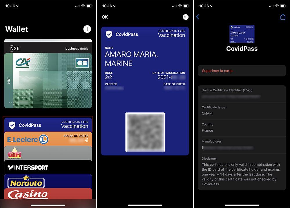 iphone qr code pass sanitaire covid wallet Comment scanner un QR Code pour le pass sanitaire avec TousAnticovid et Wallet sur iPhone ?