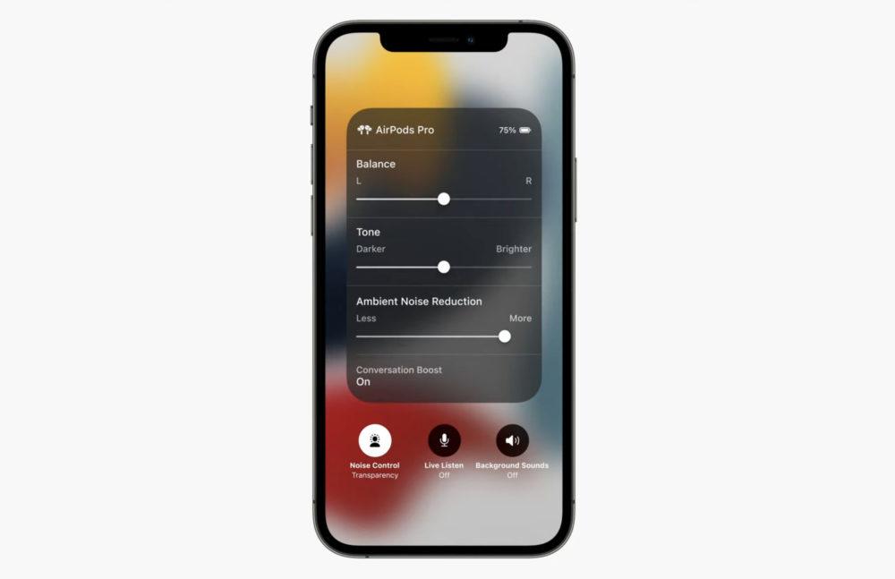AirPods Pro Conversation Boost AirPods Pro : Apple publie la 2e bêta du firmware et ajoute Conversation Boost