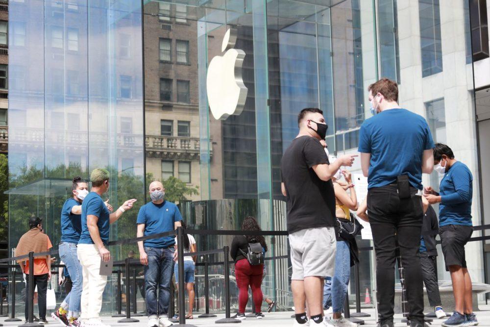 Apple Store Masque Coronavirus Les résultats financiers dApple pour le 4e trimestre de 2021 seront publiés le 28 octobre