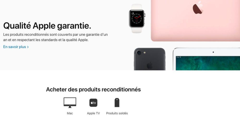 Apple Supprime Produits reconditionnes Refurb France Apple supprime la section des iPhone et des iPad sur le refurb en France