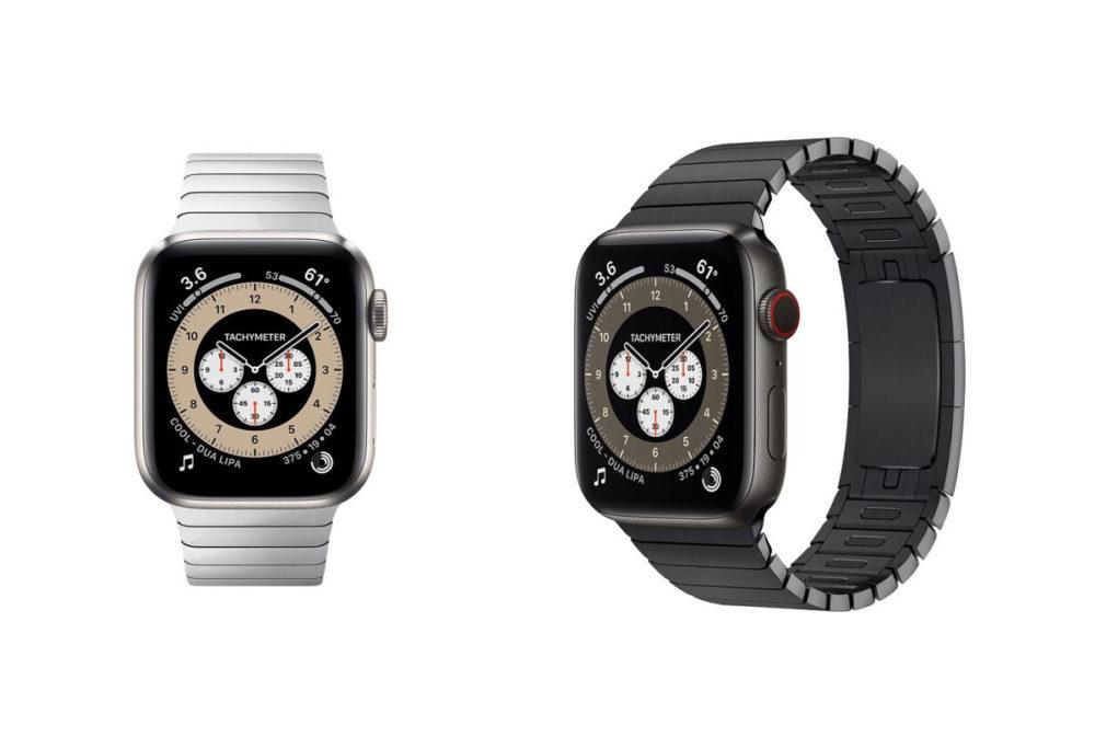 Apple Watch Series 6 En Titane LApple Watch Series 6 en titane nest plus disponible à la vente sur le site dApple