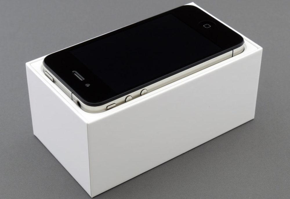 Apple iPhone 4 Noir Boite Un e mail de Steve Jobs confirme quApple voulait sortir un iPhone nano en 2011