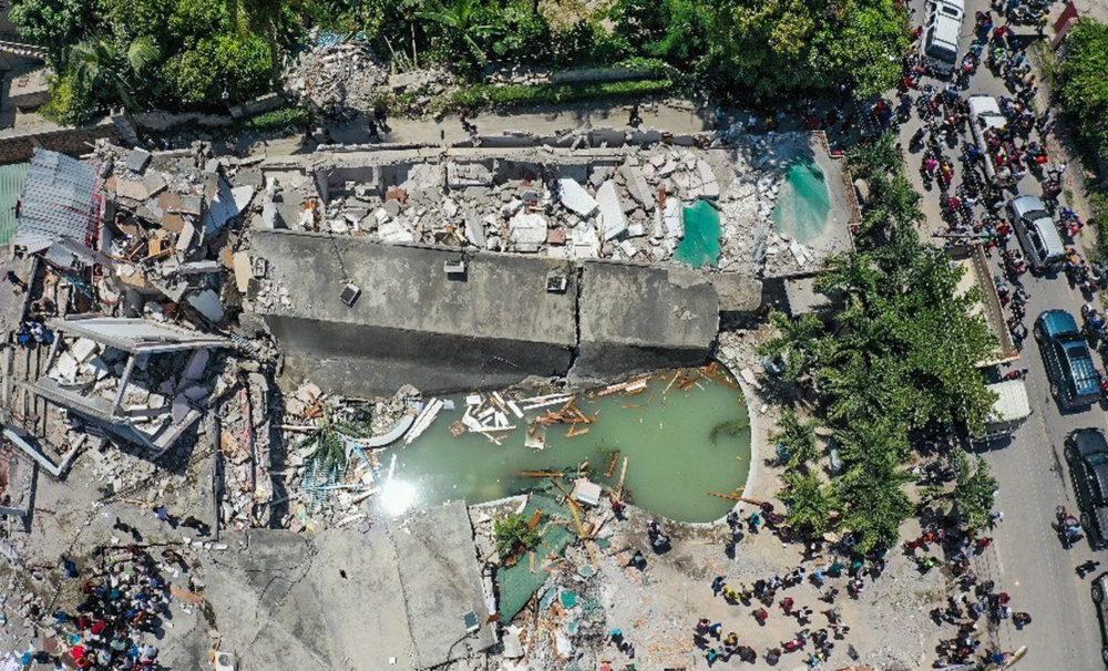 Haiti Tremblement de Terre Aout 2021 Tim Cook Don Apple va faire un don à Haïti après le tremblement de terre du 14 août dernier, annonce Tim Cook